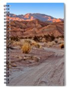 Road To The Badlands Spiral Notebook