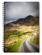 Road To The Black Valley Spiral Notebook