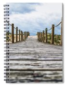 Road To The Dunes Spiral Notebook