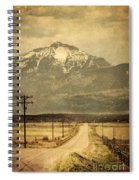Road To The Mountains Spiral Notebook