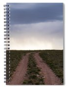 Road To The Rain Spiral Notebook