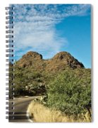Road To The Two Humped Camel Spiral Notebook