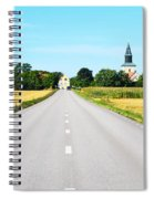 Road To The Village Spiral Notebook