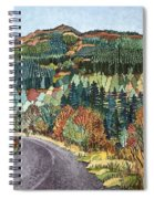 Road To Torloisk, 2008 Wc And Ink Spiral Notebook