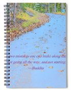 Road To Truth Spiral Notebook