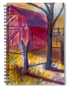 Roadside Barn Spiral Notebook