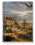Roadside Inn, 1872 Spiral Notebook