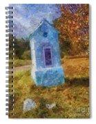 Roadside Shrine Spiral Notebook