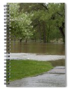 Roadway Turned Boat Launch Spiral Notebook
