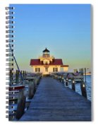 Roanoke Marches Lighthouse Spiral Notebook