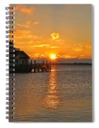 Roanoke Marshes Lighthouse 3210 Spiral Notebook
