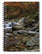 Roaring Brook - Sunderland Vermont Autumn Scene  Spiral Notebook
