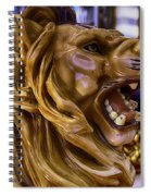 Roaring Lion Ride Spiral Notebook