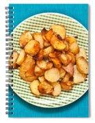 Roast Potatoes Spiral Notebook
