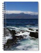 Robben Island View Spiral Notebook