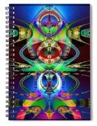 Robbie Robot Spiral Notebook