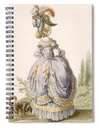 Robe De La Circassienne, Engraved Spiral Notebook