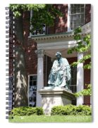 Robert Brooke Taney Statue - Maryland State House  Spiral Notebook