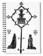 Robert De Paris And Widow Spiral Notebook