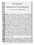 Robert Koch: Paper, 1881 Spiral Notebook