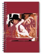 Robert Mitchum Hauls Angie Dickinson Collage Young Billy Young  Old Tucson Arizona 1968-2013  Spiral Notebook