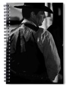 Robert Mitchum Young Billy Young Set Old Tucson Arizona  Spiral Notebook