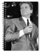 Robert Palmer Spiral Notebook