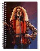 Robert Plant 2 Spiral Notebook