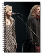 Robert Plant And Alison Kraus Spiral Notebook