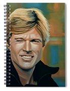 Robert Redford Spiral Notebook