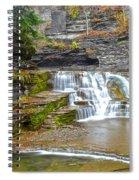 Robert Treman Waterfall Spiral Notebook