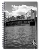 Roberto Clemente Bridge Pittsburgh Spiral Notebook
