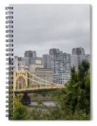 Roberto Clemente Bridge Pittsburgh Pa Spiral Notebook