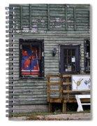 Robin's Nest Store In Autumn Michigan Usa Spiral Notebook