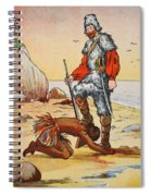 Robinson Crusoe And Friday Spiral Notebook