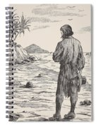 Robinson Crusoe On His Island Spiral Notebook