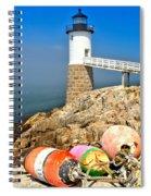 Robinson Point Lighthouse Spiral Notebook