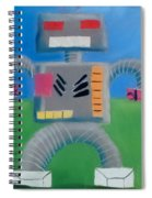 Metallic Spiral Notebook