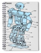 Robot Patent Spiral Notebook