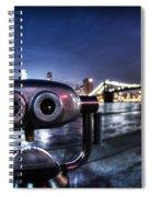 Robot Views Spiral Notebook