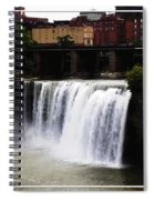 Rochester Ny High Falls Spiral Notebook