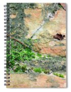 Rock Abstract 1 Spiral Notebook