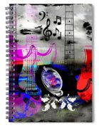 Rock And Roll Fantasy Spiral Notebook