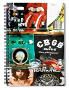 Rock And Roll On St. Marks   Nyc Spiral Notebook