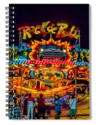 Rock And Roll On The Boardwalk Spiral Notebook