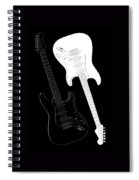 Rock And Roll Yin Yang Spiral Notebook