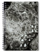 Surreal Lady Spiral Notebook