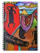 Rock Art Of Nevada Spiral Notebook