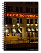 Rock Bottom - Milwaukee  Spiral Notebook