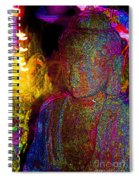 Rock Buddha Spiral Notebook